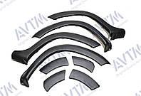 Расширители колесных арок Renault Duster (2010-2017) / 8 элементов