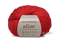 Alize  Merino Royal, Красный №56
