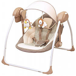 Кресло-качалка Baby Mix BY012S brown