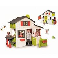 Домик игровой для детей с чердаком и звонком Дуплекс-мини Smoby, фото 1