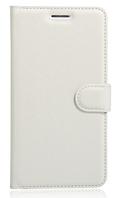 Кожаный чехол-книжка для Lenovo Vibe k5 note, A7020 белый
