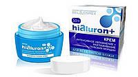 Крем интенсивное увлажнение+разглаживание глубоких морщин для всех типов кожи 50+ Hialuron+