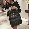 Крутой школьный рюкзак с коноплёй, фото 2