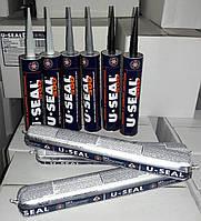 Клей-герметик полиуретановый U-Seal 500 600 мл Черный