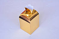 "Коробка ""Мешочек""  золото"
