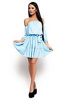 Жіноче літнє голубе плаття Sharlin