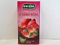 Фруктовый чай Belin с ароматом шиповника,20 пак., фото 1