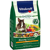 Корм Vitakraft Emotion Beauty Selection для кроликов, 600 г