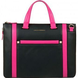 Женская кожаная сумка Piquadro RAND CA1618S83_N черный