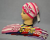 """Демисезонная шапка для девочек """"Шик"""", фото 1"""
