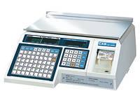 Весы с печатью этикетки CAS LP-6 (в 1.6)