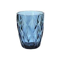 Стакан винтаж синий 250 мл (праздничные стаканы)