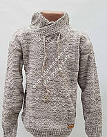 Стильный вязаный  свитер для мальчика оптом и в розницу
