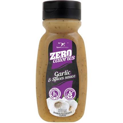 Sport Definition Sauce Zero (Garlic & Species) - 320 ml, фото 2
