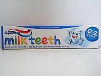 Детская зубная паста Aquafresh milk teeth 50 мл.