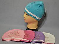 "Вязаная весенняя шапка для девочки ""Сова"", фото 1"