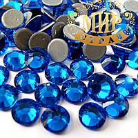 Стразы hotfix Премиум! DMC Сaprie Blue ss6(2mm).Цена за 100шт.