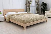 Деревянная Кровать из массива ольхи ЭЛЛА