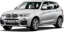 Защита двигателя на BMW X3 F25 (2010-2017)