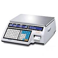 Весы с печатью этикетки CAS CL 5000J-IB-6