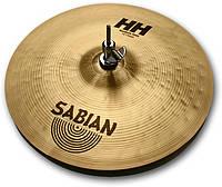 """Тарелка хай-хет SABIAN 14"""" HH Medium Hats Brilliant"""