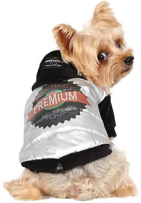Куртка для собак Awesome серый металик XL