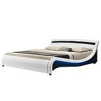 Кровать кожаная двуспальная