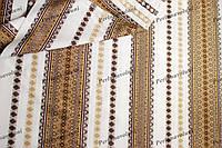 Ткань для вышиванок с украинским орнаментом Рандеву ТДК-110 2/2