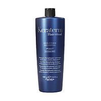 Шампунь для реконструкции повреждённых волос FANOLA Keraterm Shampoo 1000 мл