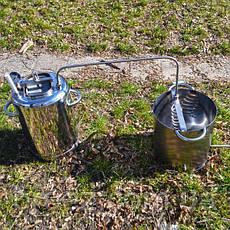 Автоклав Люкс 14 банок с открытым дистиллятором, фото 2