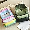 Яркий рюкзак из плащевки градиент, фото 2