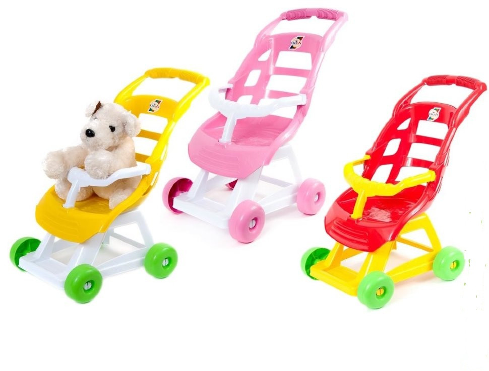 Коляска для кукол, Орион 147, трость, кукольная коляска