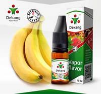 Банан 10ml Жидкость для заправки электронных сигарет (кальянов) Dekang