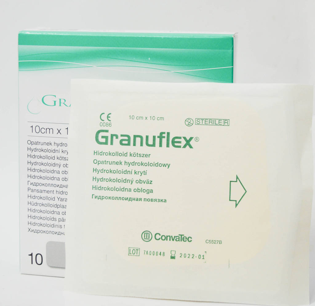 Грануфлекс (Granuflex) повязка гидроколлоидная 10х10см