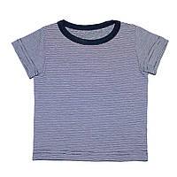 Дизайнерская футболка 3,6,9,12 мес. Andriana Kids с мелкими полосками
