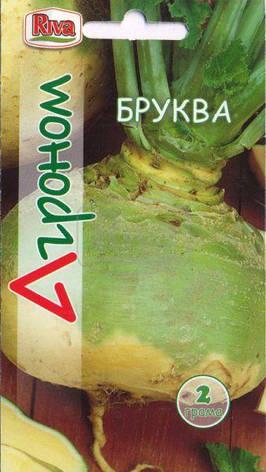 Насіння Бруква Бруква 2 г Ріва Трейд, UA, фото 2