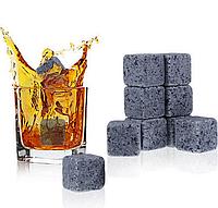 Камни для охлаждения напитков, гранит, 9 штук,  (Whisky Stones)