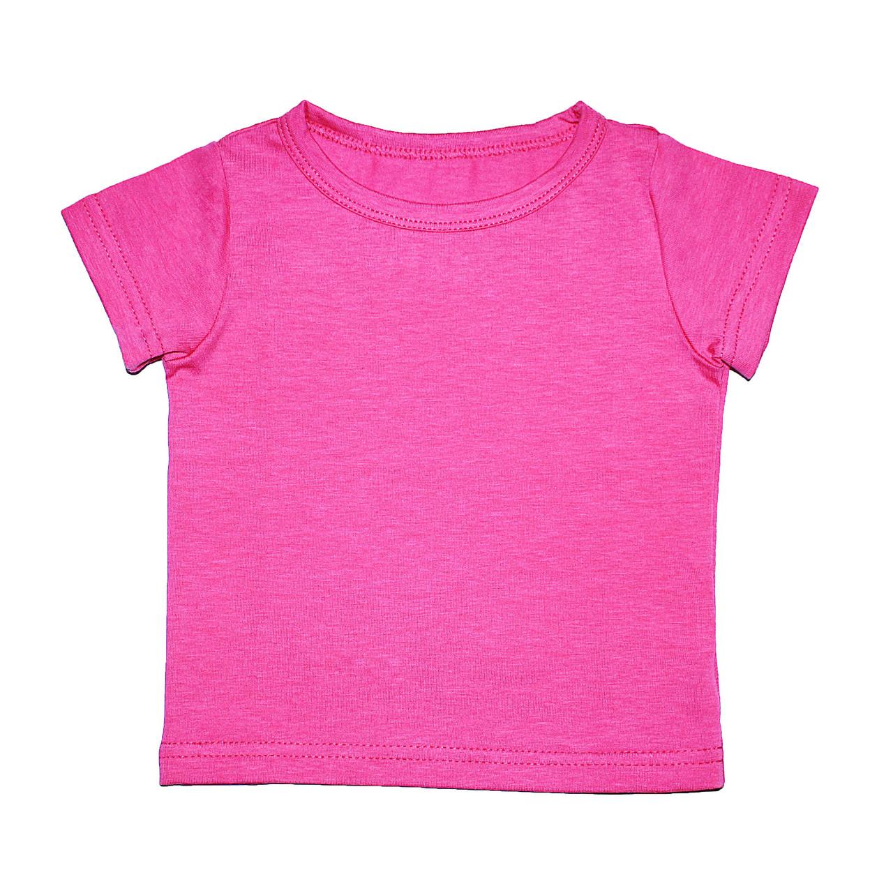 Дизайнерская футболка 6/12 мес. Andriana Kids малиновая