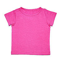 Дизайнерская футболка 3,6,9,12 мес. Andriana Kids малиновая