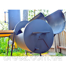 Коптильня Троян с листового металла, фото 3