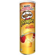 Чипсы Pringles со вкусом паприки 165 g