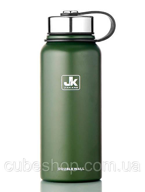 Термос Jiakand (800 мл) зеленый