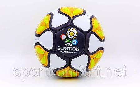 Мяч футбольный №5 Euro 2012 (4 слоя ПВХ) (футбольний м'яч)