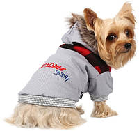 Куртка для собак Awesome DDY серая коттон XL