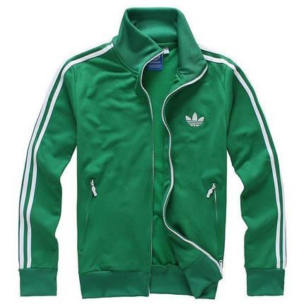 Спортивный костюм Adidas, мятный костюм с лампасами R176, фото 2