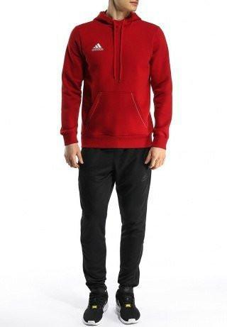 Спортивный костюм Adidas, красный верх, черный низ,  R188