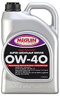Синтетическое моторное масло Meguin megol motorenoel Super Leichtlaul Driver sae 0w40