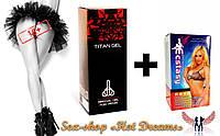 Капли для сексуального удовольствия «Ecstasy»+ ««Titan Gel» — секрет настоящих мужчин , фото 1