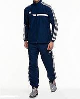 Спортивный костюм Adidas, синий костюм, с лампасами, R278
