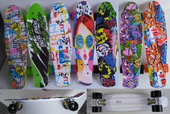 Скейт Пенни Penny Board 170421 колёса PU, 57*15см